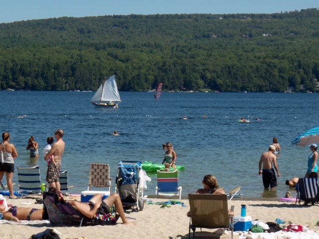 Lake Sunapee State Park Beach