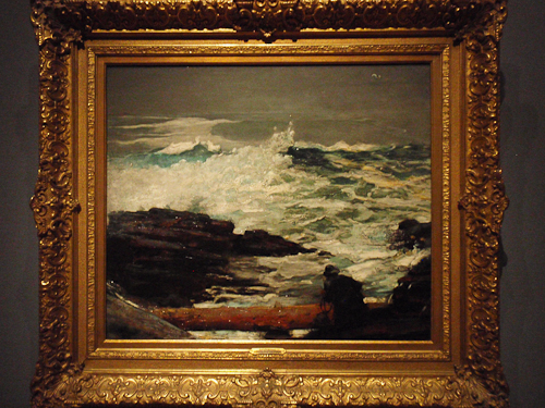 Driftwood by Winslow Homer