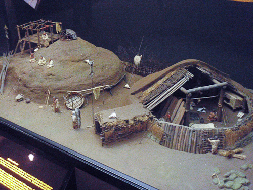 Model of Mandan House