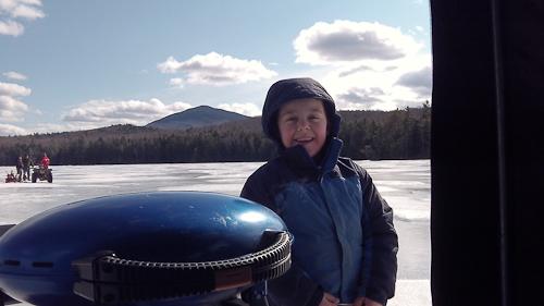 Ice Fishing Indian Pond Feb 18 2012-3