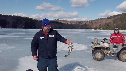 Ice Fishing Indian Pond Feb 18 2012-4