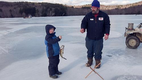 Ice Fishing Indian Pond Feb 18 2012-5