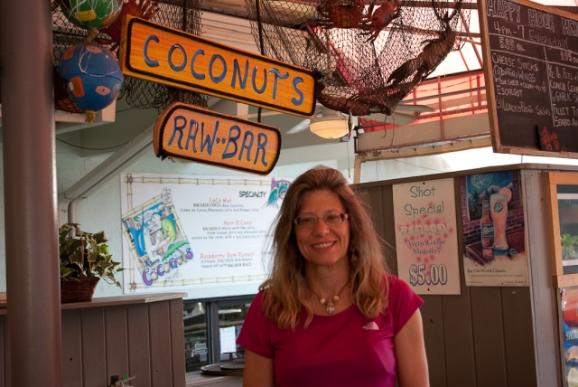Key Largo 2012 - Eileen at Coconuts
