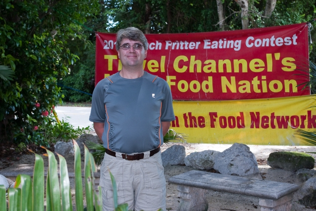 Key Largo 2012 - Mark at the Conch House