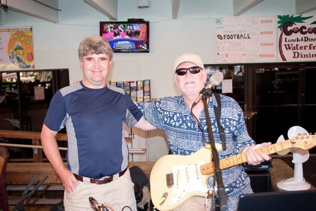 Key Largo 2012 - Mark with Bobby Brown
