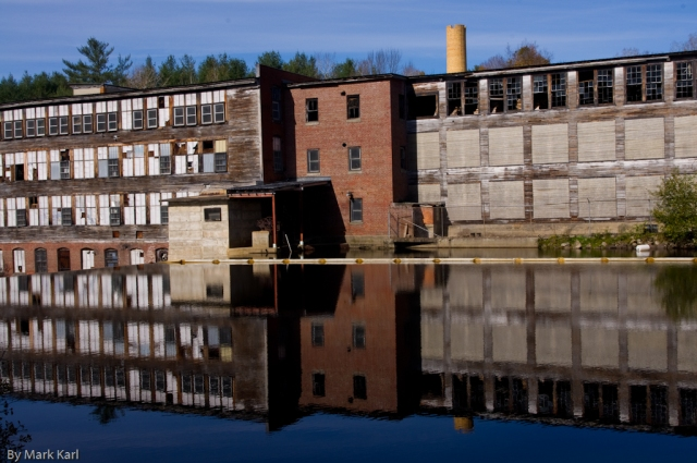 Old Mill in Enfield NH  - Rail Trail Oct 17 2012-9