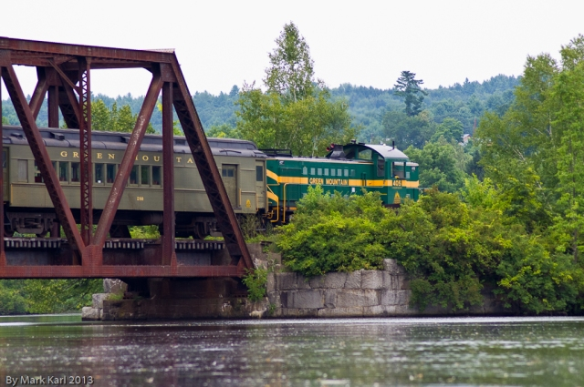 Green Mountain Railroad Train