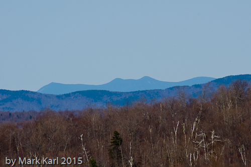 Franconia Ridge in the distance.