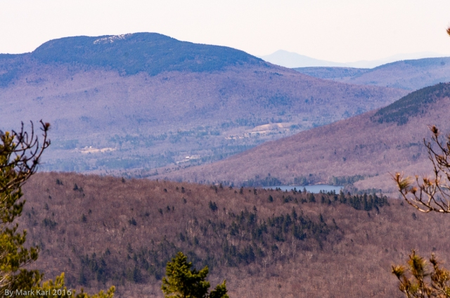 View towards Mt. Cube in Orford, NH