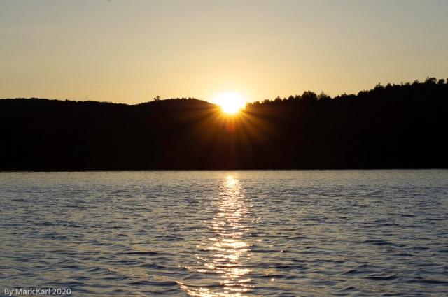 Sunrise at Gradton Pond